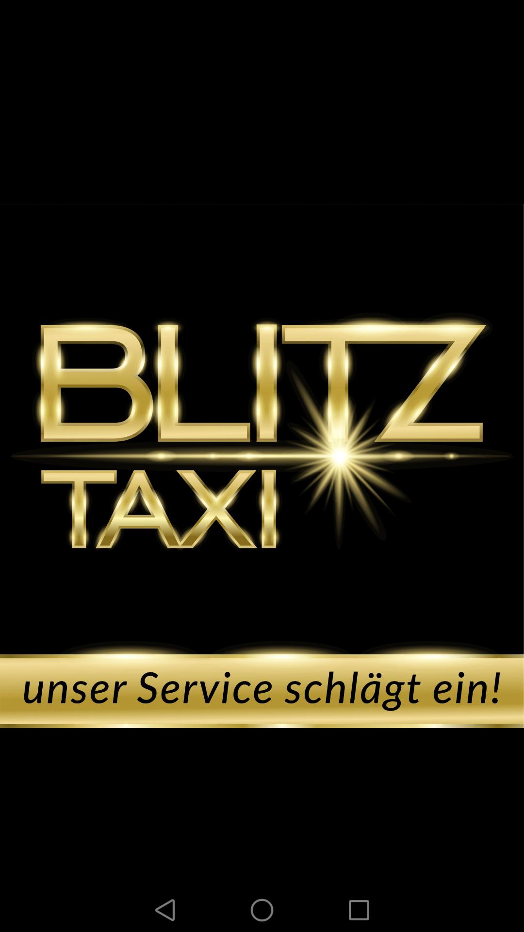 Blitz-Taxi