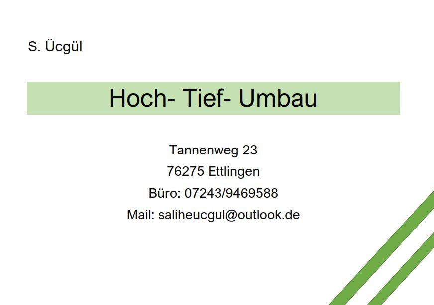 Bild zu Ücgül Bauunternehmen in Ettlingen