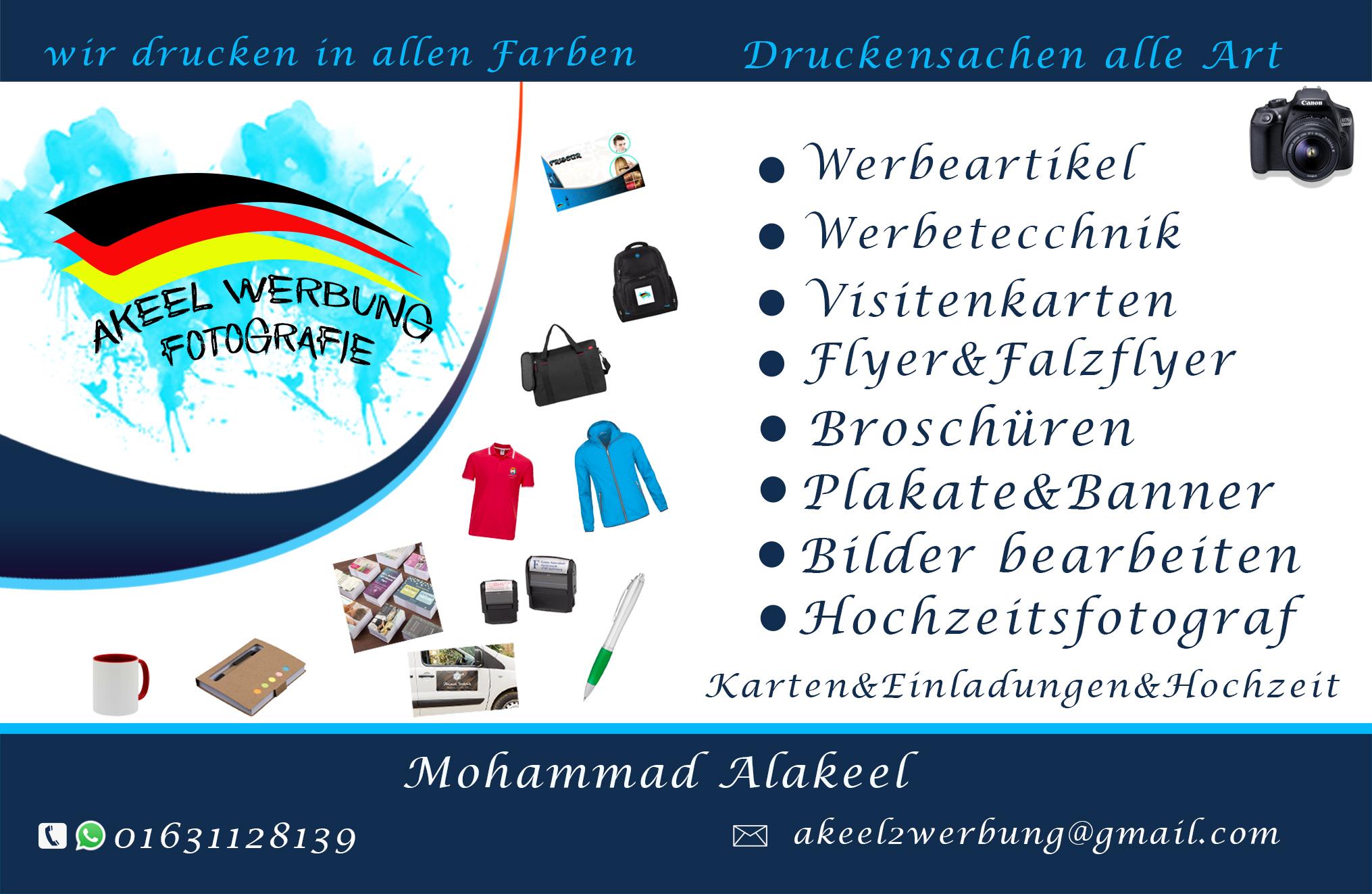 Akeel Werbung 30449 Hannover Linden Süd Adresse Telefon